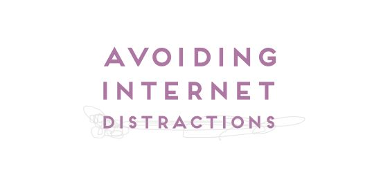 how to stop getting distracted by the internet
