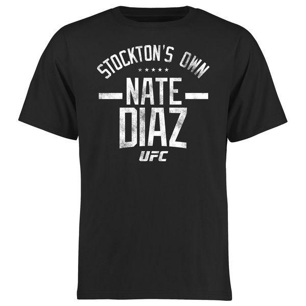 Nate Diaz UFC Fanatics Branded Firebrand T-Shirt - Black - $24.99