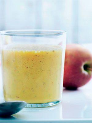 Smoothie med havtorn og æble - Drinks - Opskrifter - Mad og Bolig