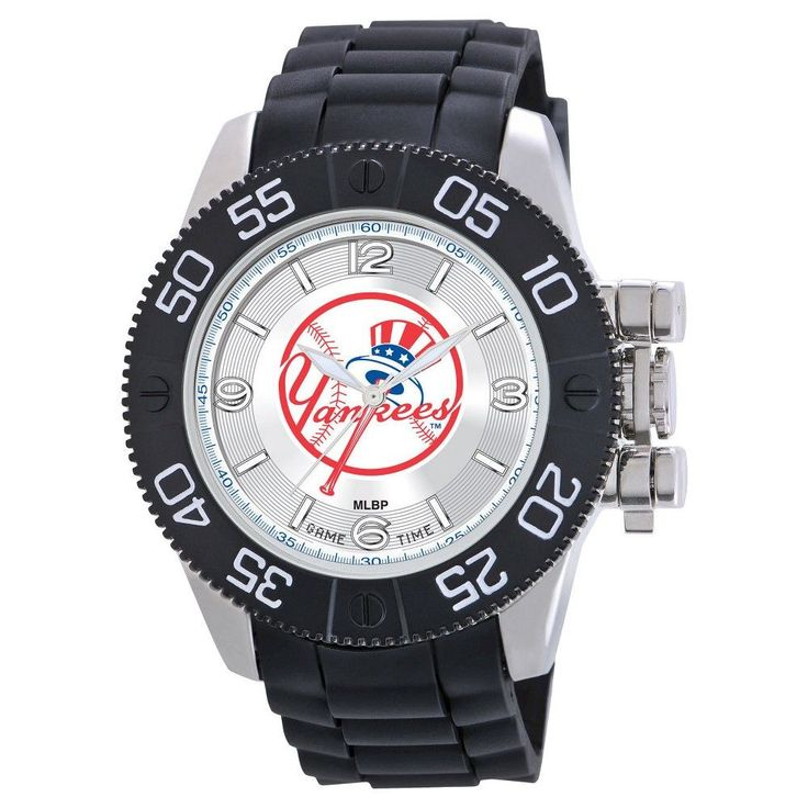 Men's MLB Game Time New York Yankees Beast Series Watch - Black