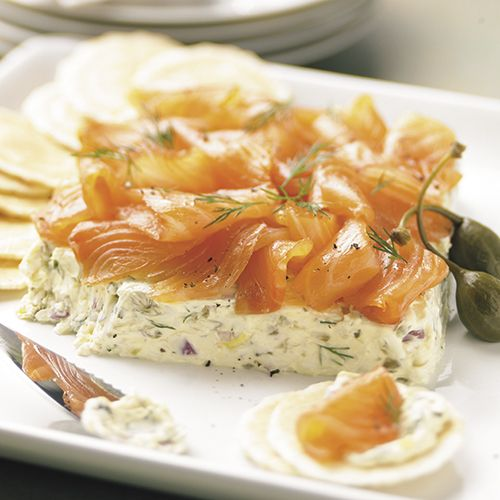 Smoked Salmon Spread - The Pampered Chef® - what's not to like about salmon, capers, and dill.