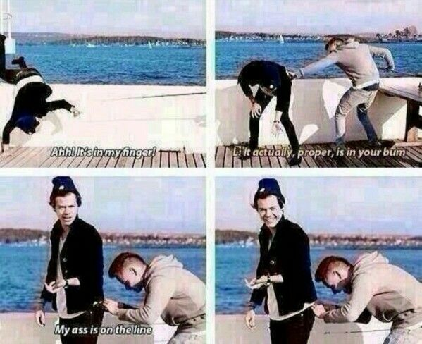 One Direction, Harry Styles And Liam Payne This is US funny moment!!
