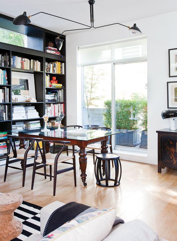 Photos petite demeure clectique et moderne for Petite salle a manger moderne