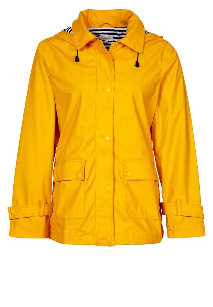 Regenjacke / wasserabweisende Jacke - honey