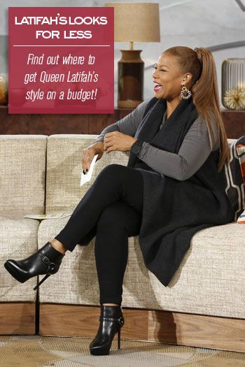 Find Queen Latifah's looks for less!