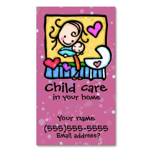 156 best babysitting business cards images on pinterest business littlegirlie babysitter child care custom card pnk business card templates fbccfo Image collections