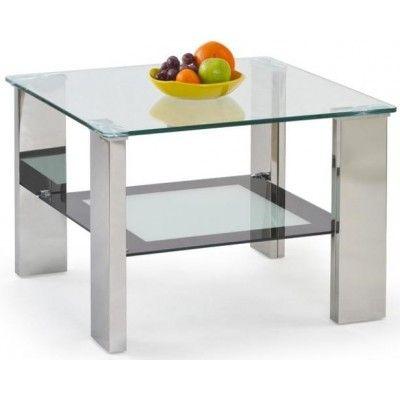 Scott kvadratiskt soffbord - Glas