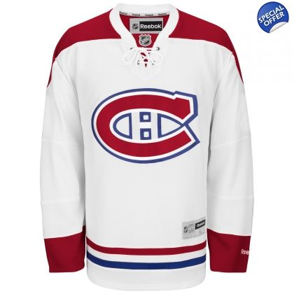 ... NHL Montreal Canadiens Montreal Canadiens Reebok Premier Away Jersey -  White P.K. Subban Authentic Red 76 ... c7f2bc8f6