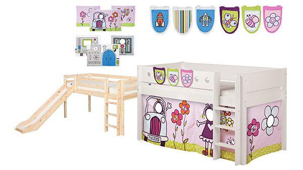 Spain  Promoción - Promoción - Promoción – Promoción   Compra una cama media alta y llévate el juego de bolsillos y cortinas, GRATIS! Escoge entre 9 combinaciones y entre la colección de Robot o Nenas. Los textiles Flexa son ökotex, libres de tóxicos y lavables.  Ahorra 50% de Robot o Nenes ropa de cama.  Compra un escritorio y llévate la silla de oficina, GRATIS!   Promoción válida desde el 01/07 hasta el 21/07