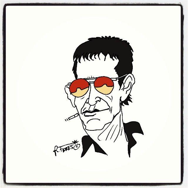 Instagram photo by @Roberto Flores Yoldi via ink361.com  Lou Reed, 1942-2013.
