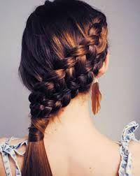Risultati immagini per acconciature treccia capelli lunghi