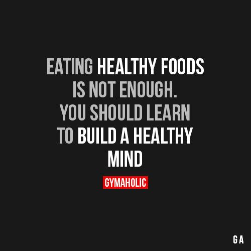 Eating Healthy Foods Is Not Enough