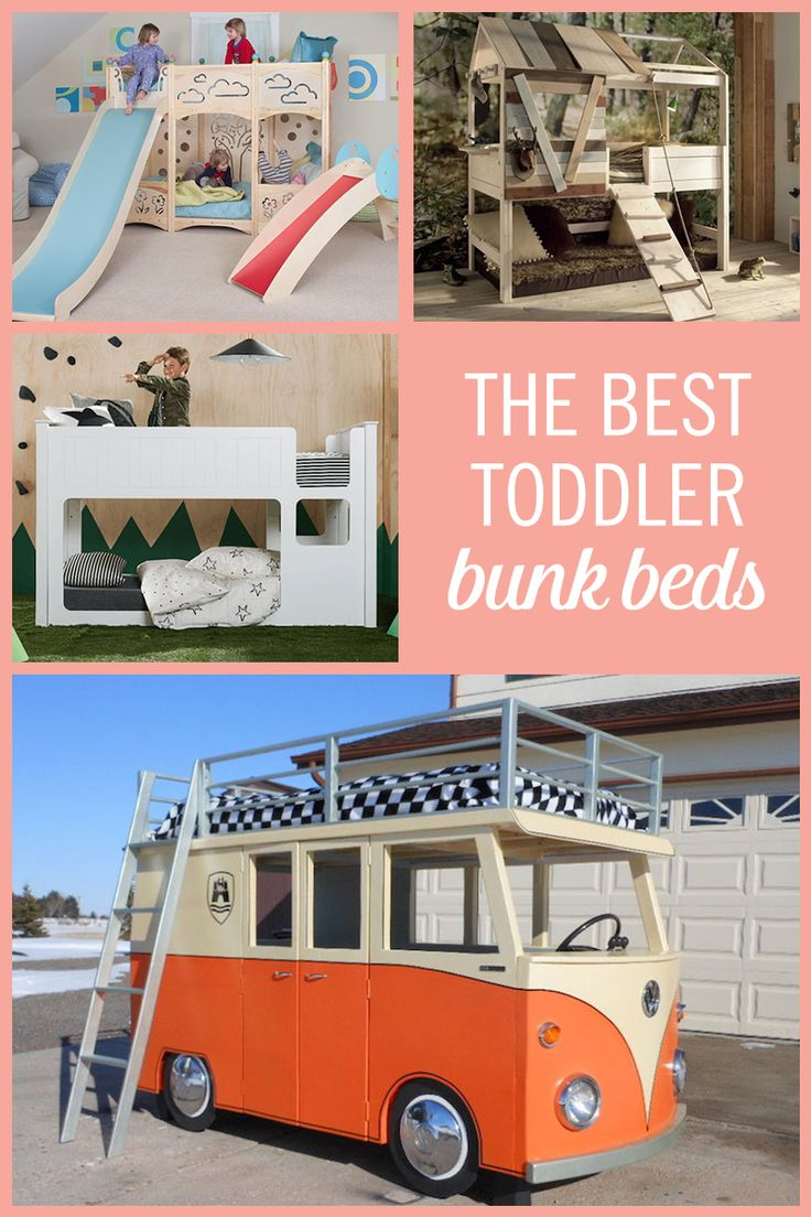 Car bunk beds for kids - The 16 Coolest Bunk Beds For Toddlers