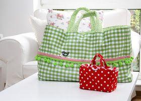diadu: anleitung für eine genähte einkaufstasche in groß und klein - TextSM und Anleitung