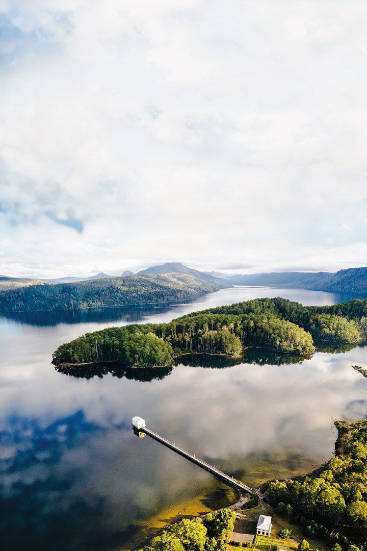 Pumphouse Point, Tasmania. Photo: Stu Green