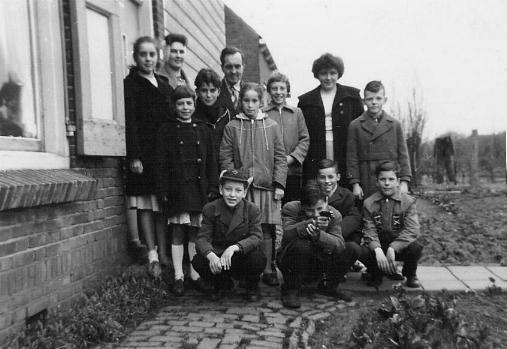 Een verjaardags feestje in 1959