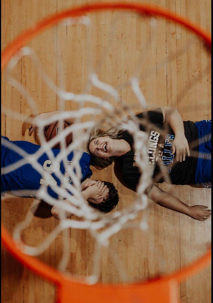 Senior basketball- couple