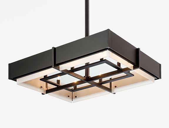 euclid chanderlier rectangular holly hunt studio