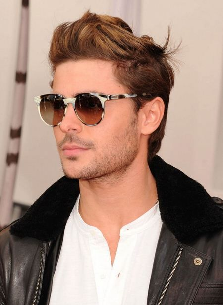 Zac Efron in PRISM's Unisex PARIS Zebra Horn frame...Click through to read how to Choose Your Eyewear To Suit Your Style- Men's Fashion