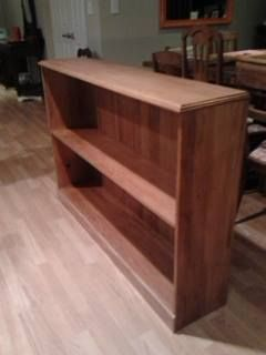 Bookcase Kauri and rimu