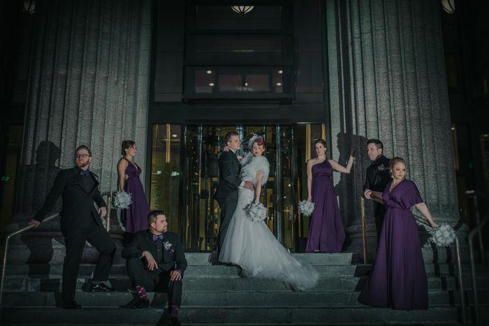 Calgary wedding Gatsby wedding art deco wedding Kingdom Come Photography Calgary 19