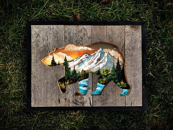 Made on reclaimed wood this piece measures at 16x12 and has the perfect amount of color to make it pop. Its a perfect, subtle way to put nature in your home.