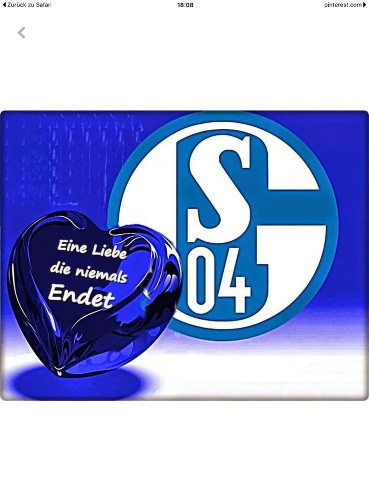 die besten 25 schalke 04 logo ideen auf pinterest. Black Bedroom Furniture Sets. Home Design Ideas