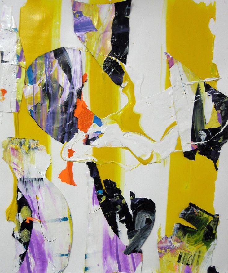 "Saatchi Art Artist: robert tavani; Acrylic 2012 Painting ""Yellow Bellow"""