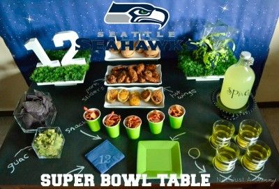Seattle Seahawks Super Bowl Party Ideas #todaysmama