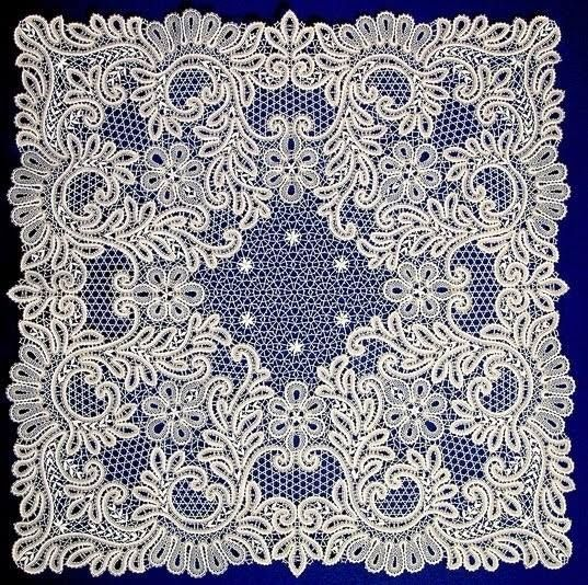 Russian style tape lace