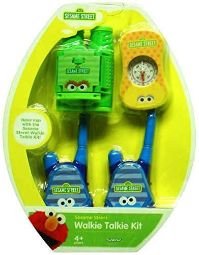 Kids' Walkie Talkies - Sesame Adventure Kit  Walkie Talkies Compass Binoculars * You can find out more details at the link of the image.