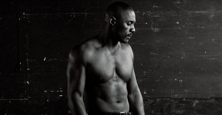 Idris Elba covers Interview Magazine