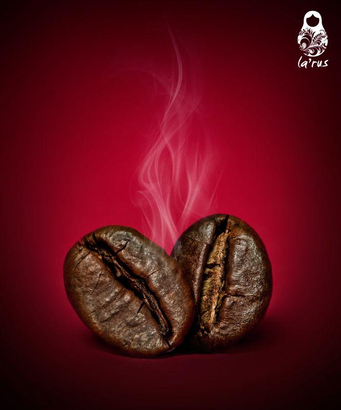 Smoky coffee beans by larus , via 500px