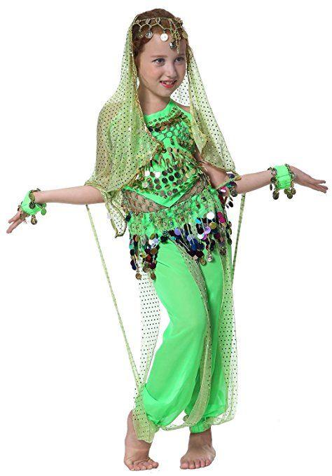 Elfen Kostum Madchen Jeannie Kostum Fur Kinder Bauchtanz Faschings