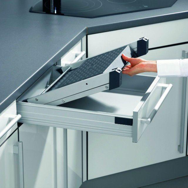 24 best Waste Bins images on Pinterest Cookware accessories - schubladen ordnungssystem küche