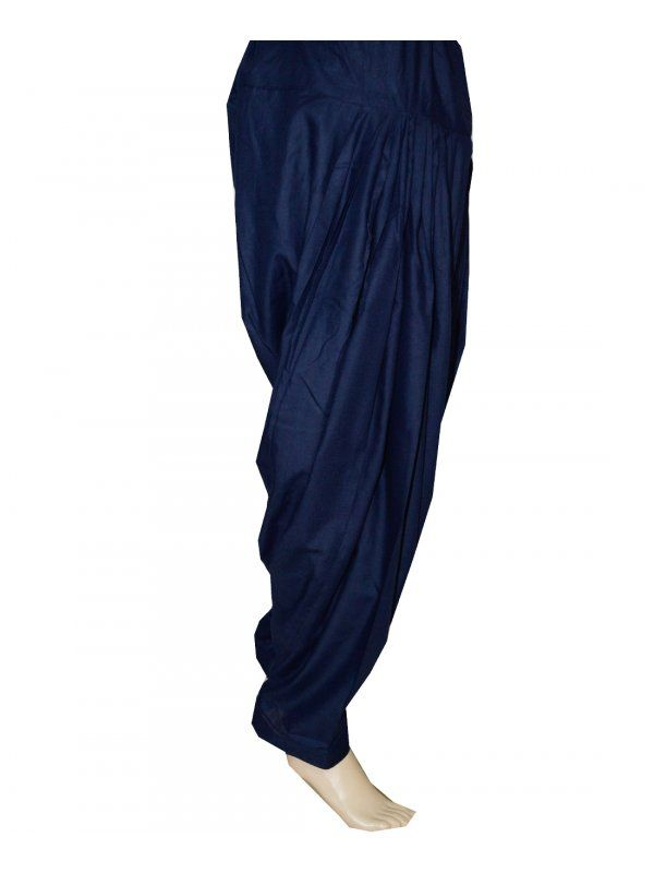Navy Patiala Salwar online at best price  Patiala Salwar Direct from Patiala    Cotton Metrial 3 Meter Patiala Salwar    Length 39 Inch    Free Size    Wash Care - Soft Wash     Shop Now ; https://www.punnjab.com/navy-patiala-salwar-jsp1032