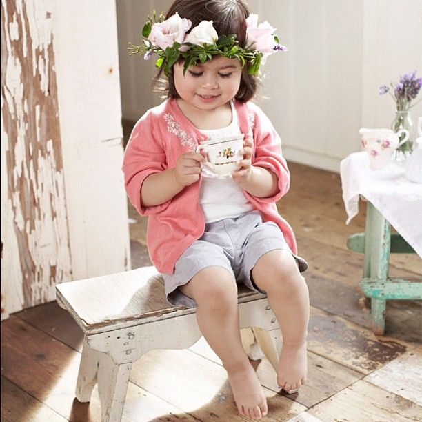 Purebaby spring/summer 12 collection coming soon! Outfit from basic girls collection #purebaby #summer #teaparty #baby #flower #photoshoot #babyclothes #spring - @purebabyorganic- #webstagram