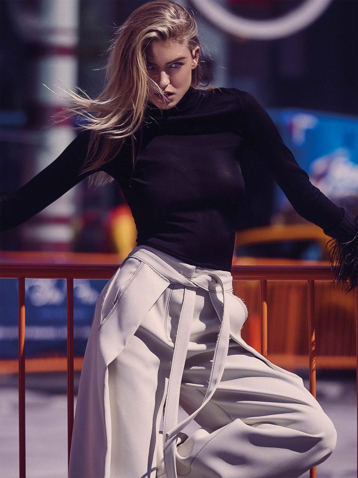 Martha Hunt embraces street style for the editorial