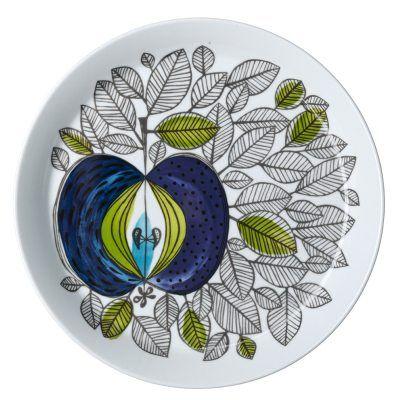 Eden tallerken designet av Sigrid Richter, er laget i porselen og har et vakkert design med et unikt...