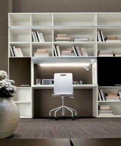 Consigli per la casa e l' arredamento: Come creare un angolo studio in soggiorno