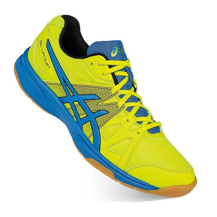 ASICS GEL-Upcourt Men's Volleyball Shoes, Size: 14, Brt Yellow
