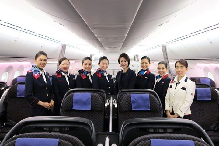 FlightMode: Cabin Crew Japan Airlines in Singapore
