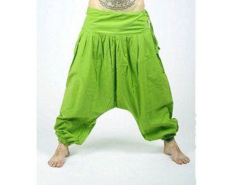 Pantalones de Aladdin Afghani harén pantalones Psy por manaKAmana