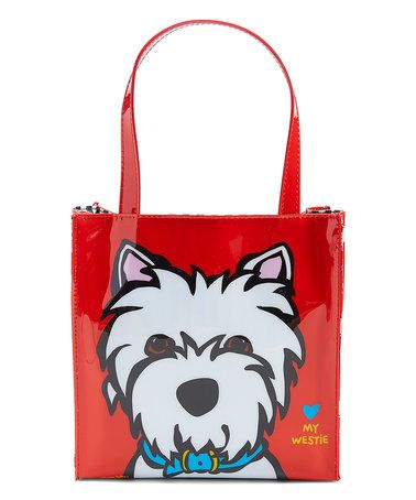 Love this Red Westie Insulated Lunch Tote on #zulily! #zulilyfinds