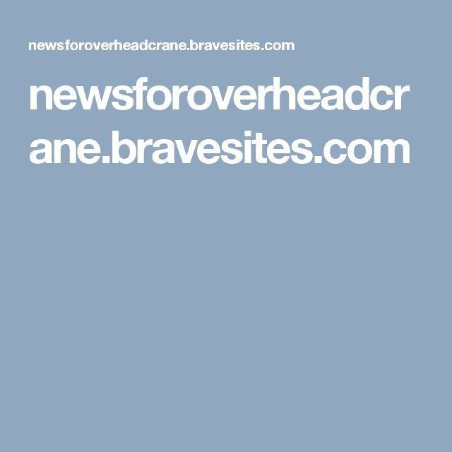 The 26 best Overhead crane(bridge crane) images on Pinterest ...