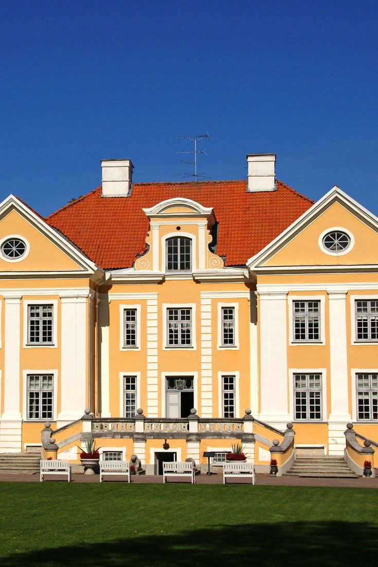 Palmse Manor In Vihula Tavel Estonia With Images Vacation