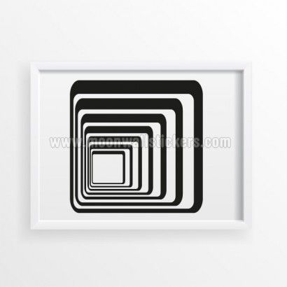 Tunel Poster - Moon Wall Stickers