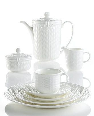 Wedgwood Dinnerware, Nantucket Basket Collection - Casual Dinnerware - Dining & Entertaining - Macy's