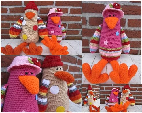 pinguïn Rico & Rica! het patroon van Stip & Haak