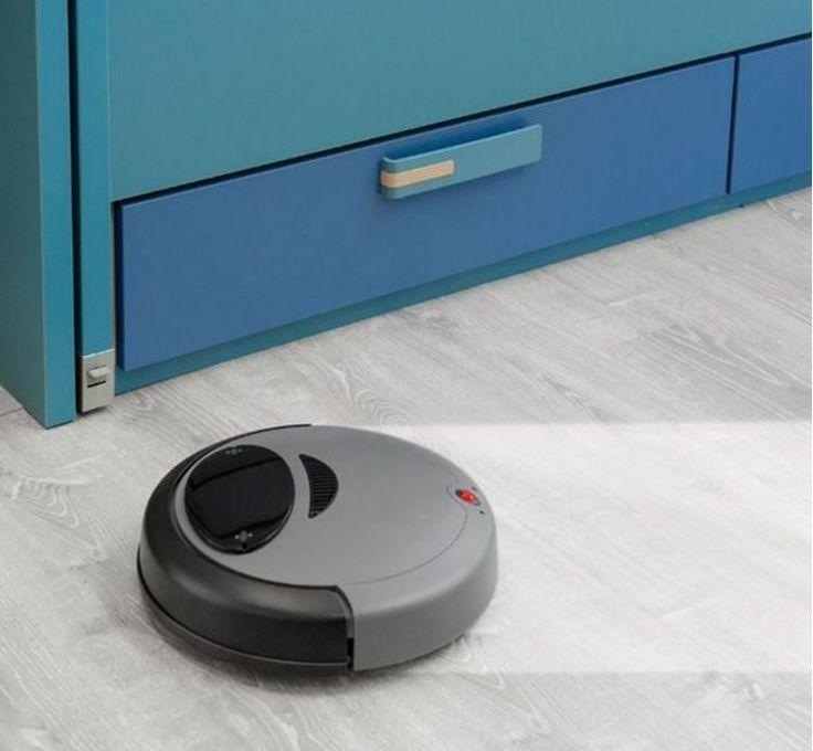 Robot aspirateur et laveur avec batterie lithium
